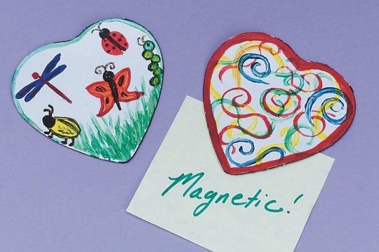 Buy heartfelt magnets craft kit at s s worldwide for Where to buy magnets for crafts