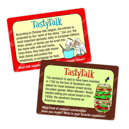 talk home card