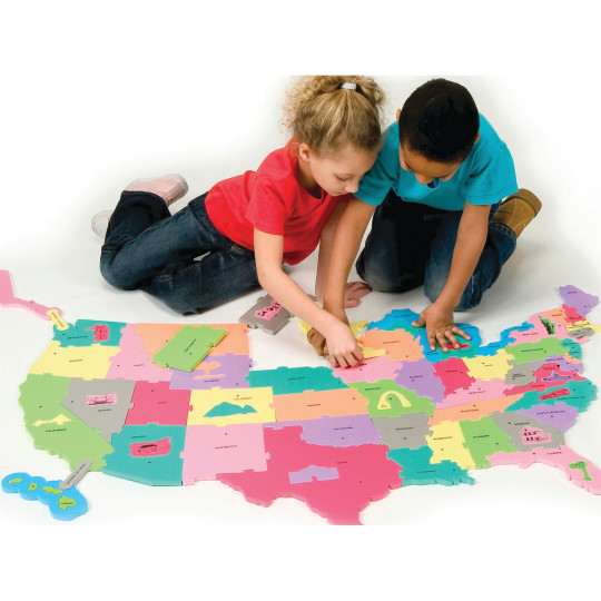 Buy USA Floor Puzzle Map at SS Worldwide