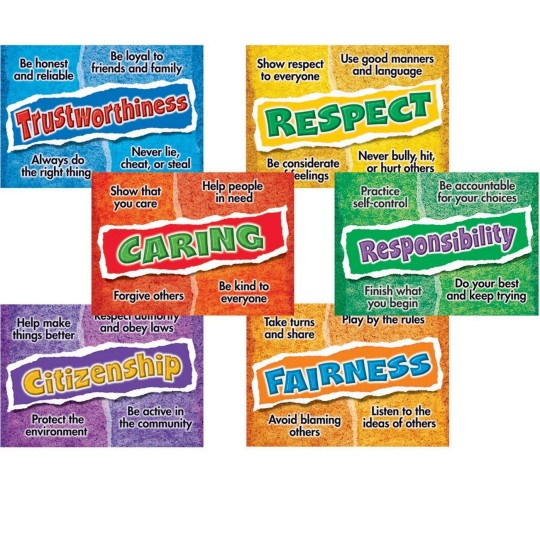 Buy Character Education Posters at S&S Worldwide