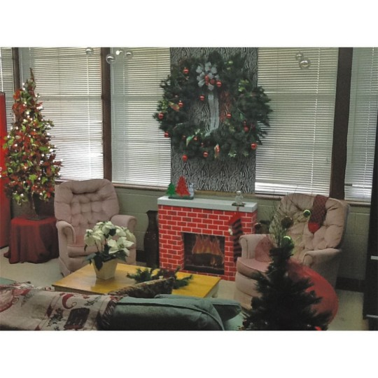 Buy Corobuff® Cardboard Fireplace Decoration at S&S Worldwide