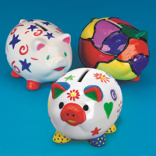piggy banks craft kit