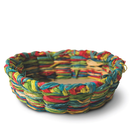 Basket Weaving With Raffia : Buy raffia basket craft kit at s worldwide