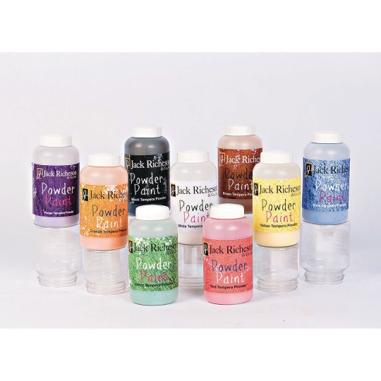 Buy Powdered Tempera Paint Set (set of 9) at S&S Worldwide