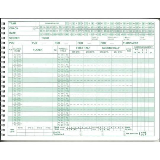 Buy Cramer Mark V Basketball Scorebook At S Worldwide