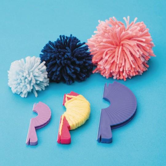 darice pom pom maker instructions