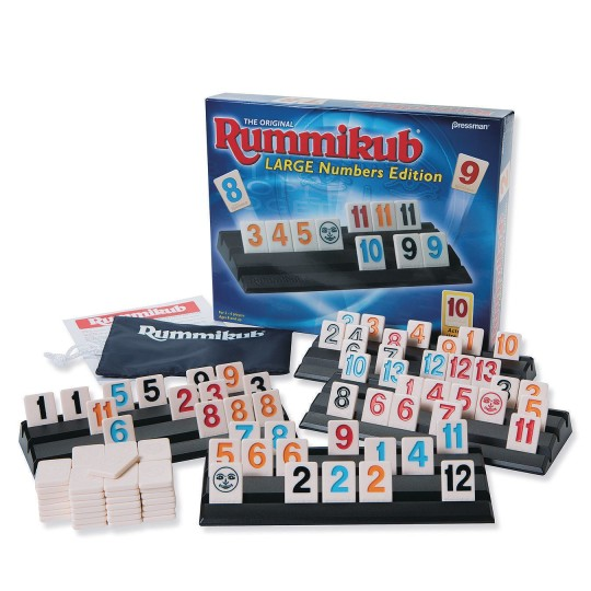 Buy Rummikub Large Numbers Edition At Ss Worldwide