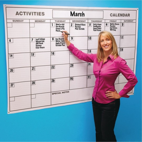 Office Calendar Board : Buy laminated gigantic wall calendar at s worldwide