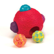 Multi-Textured Ballyhoo Ball