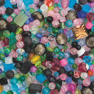 Glass Bead Assortment, 1-lb. Bag