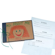 All About Me Scrapbook  (pack of 24)