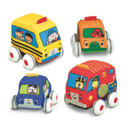Pull Back Vehicles (set of 4)