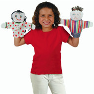 Color-Me™ Hand Puppets (pack of 12)