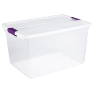 Clear-View Storage Container 66 Quarts