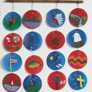 Philippine Wind Chimes Craft Kit (makes 25)