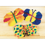 EduCraft® Scholastic Watercolor Butterflies Craft Kit (makes 30)