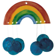 Musical Rainbows Wind Chime Craft Kit  (makes 16)