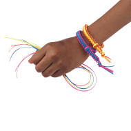 Neon Buddy Bracelets Craft Kit (makes 100)