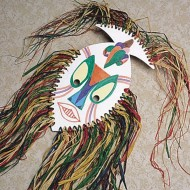 African Mask Kit  (makes 9)