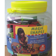 Magic Shapes in Jar  (set of 81)