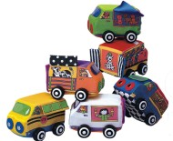Vroom Vroom Soft Vehicles (set of 6)