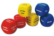 Story Starter Word Cubes (set of 6)