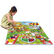 Land of Nutrition Foam Floor Puzzle