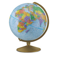 "Explorer Globe, 12"" diameter, 16"" high"