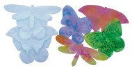 Color Diffusing Paper Butterflies  (pack of 48)