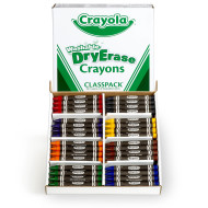 Washable Dry-Erase Crayons (box of 96)
