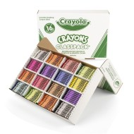 Crayola® Classpack® Crayons - Regular, 16 Colors  (box of 800)