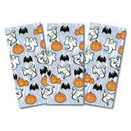 Pumpkin and Ghosts Cello Bags (pack of 25)