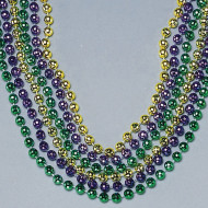 "33"" Mardi Gras Beads (pack of 36)"