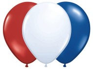 Qualatex® Patriotic Balloon Assortment  (bag of 100)