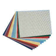 "Plastic Canvas Sheets 10-1/2""x13-1/2"" - Assorted  (pack of 12)"