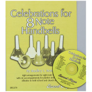 Celebrations for 8 Note Handbells Book and CD