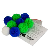Fleece Indoor Bocce Set (set of 9)