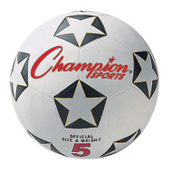 Champion Size 5 Rubber Soccer Ball
