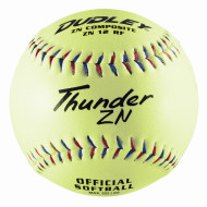 "Dudley® Thunder ZN USSSA Slow Pitch Softball 12"" ZN12RFY"