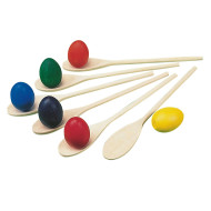 Spectrum™ Eggs and Spoons  (pack of 6)