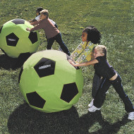 Spectrum™ Giant Neon Soccer Ball, 36""