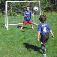 "Indoor/Outdoor Soccer Goal - 72""W x 60""H x 48""D"
