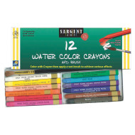 Sargent® Watercolor Crayons (pack of 12)