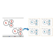 Number Bonds Magnetic Set (set of 5)