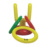 Inflatable Football Goal Ring Toss Game