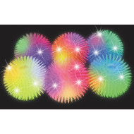 "11"" Light Up Puffer Balls (pack of 6)"