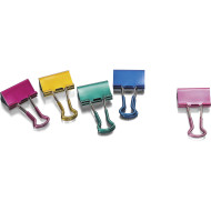 Small Easy Grip Metallic Binder Clips (pack of 24)