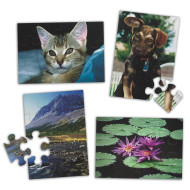 E-Z™ 12-pc. Puzzle Set A - 4 Asst. Designs (set of 4)