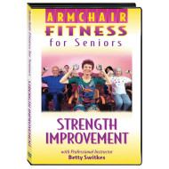 Armchair Fitness for Seniors - Strength Improvement DVD