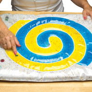 Spiral Activity Gel Pad